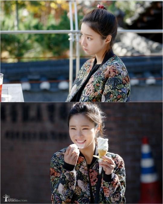 '아이언맨' 신세경, 아이스크림 들고 함박 미소 '훈훈'